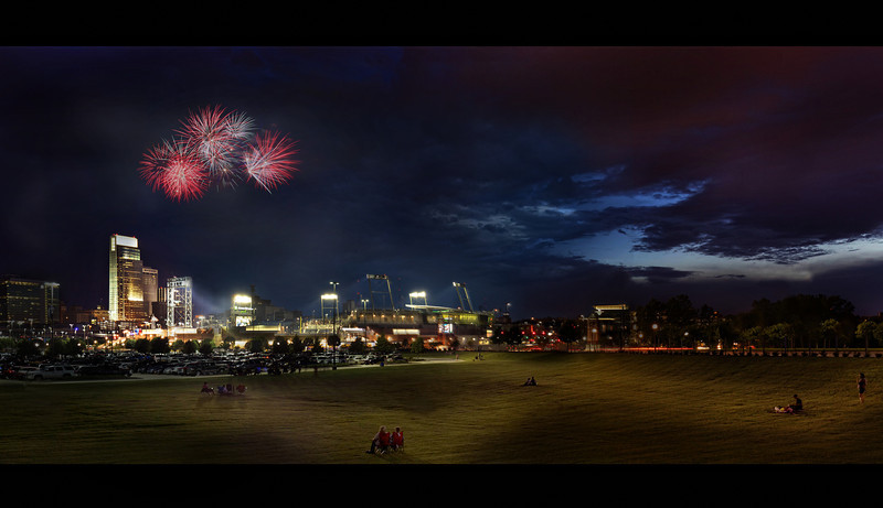 Omaha's Home Run Derby Fireworks
